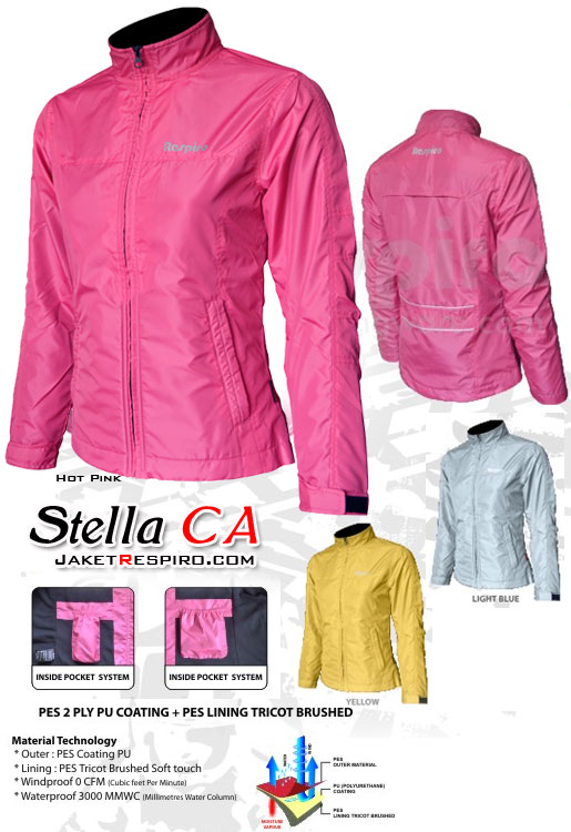 Jaket Parasut jaket-wanita-stella-ca