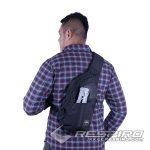 6-Waist-Bag-Shoulder-Respiro-Traco-Crossbody-Bag-Black-Tas-Selempang